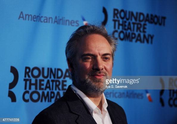 Sam Mendes attends Roundabout Theatre Company's 2014 Spring Gala at Hammerstein Ballroom on March 10 2014 in New York City