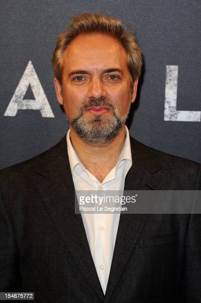 Sam Mendes attends the premiere of the latest James Bond 'Skyfall' at Cinema UGC Normandie on October 24 2012 in Paris France