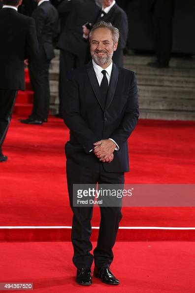 Sam Mendes attends the Royal World Premiere of 'Spectre' at Royal Albert Hall on October 26 2015 in London England