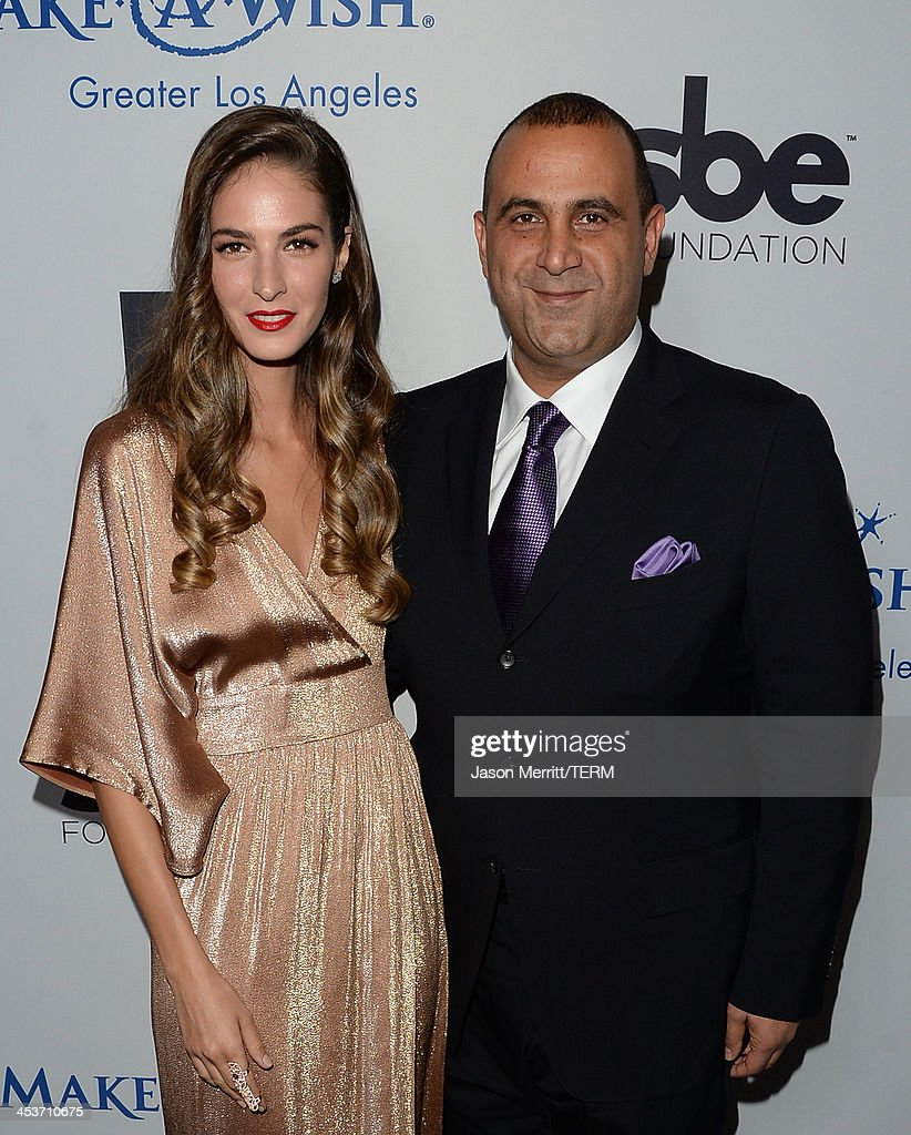 <a gi-track='captionPersonalityLinkClicked' href=/galleries/search?phrase=Sam+Nazarian&family=editorial&specificpeople=657664 ng-click='$event.stopPropagation()'>Sam Nazarian</a> attends the Make-A-Wish Greater Los Angeles 30th Anniversary Gala on December 4, 2013 in Los Angeles, California.