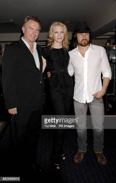 Sam Neill Cate Blanchett and Martin Henderson arriving for the UK premiere of Little Fish at the Curzon Soho central LondonSam Neill and his...