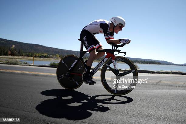 Sam Oomen of Netherlands riding for Team Sunweb during stage five of the AMGEN Tour of California from Ontario to Mt Baldy on May 18 2017 in Ontario...