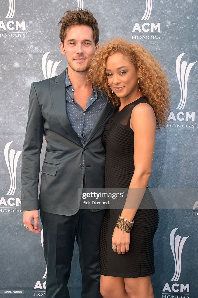 Sam Palladio and Chaley Rose attend the 8th Annual ACM Honors at Ryman Auditorium on September 9 2014 in Nashville Tennessee