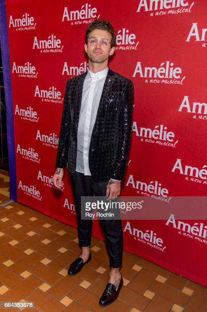 Sam Pinkelton attends the 'Amelie' Broadway Opening Night After Party the at 30 Rockefeller Plaza on April 3 2017 in New York City