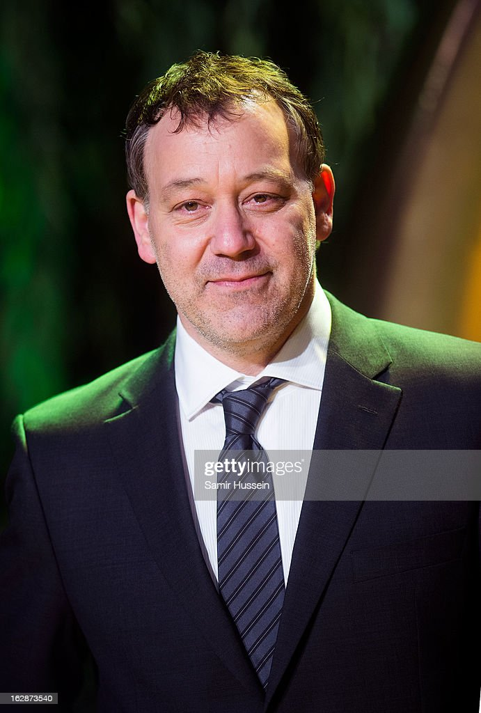 Sam Raimi arrives for the 'Oz: The Great And Powerful' European premiere at the Empire Leicester Square on February 28, 2013 in London, England.