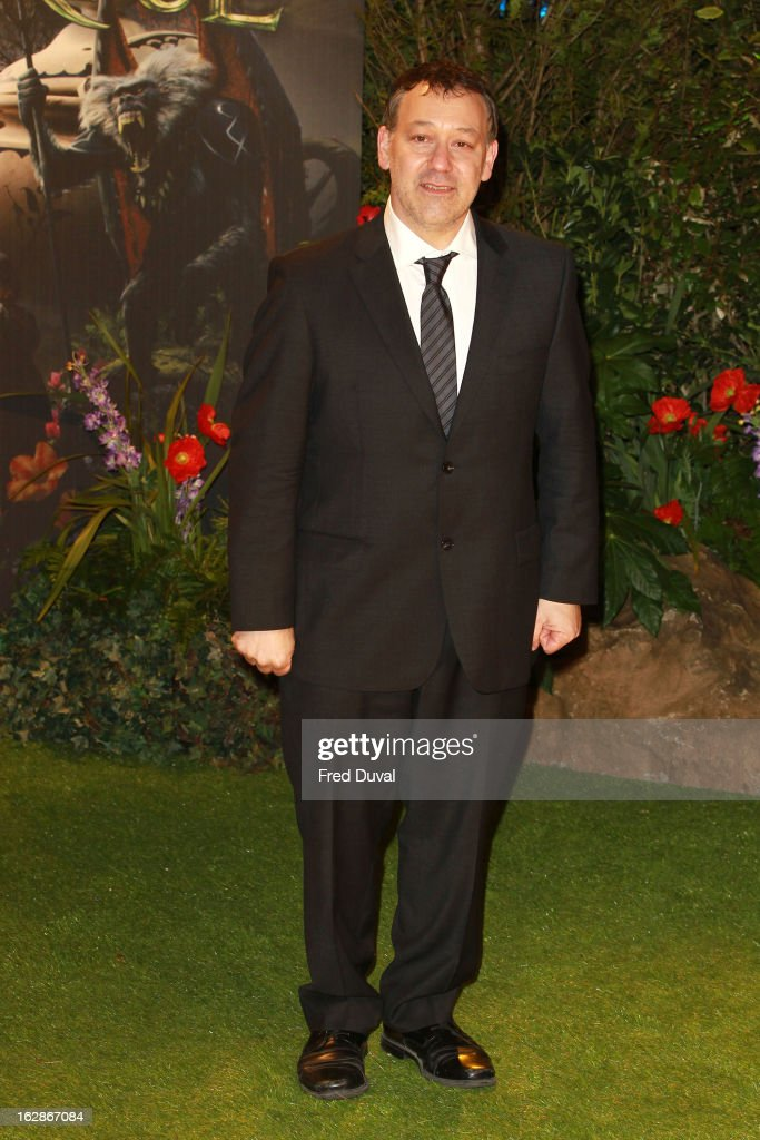 Sam Raimi attends the European Film Premiere of 'Oz: The Great And Powerful' at The Empire Cinema on February 28, 2013 in London, England.