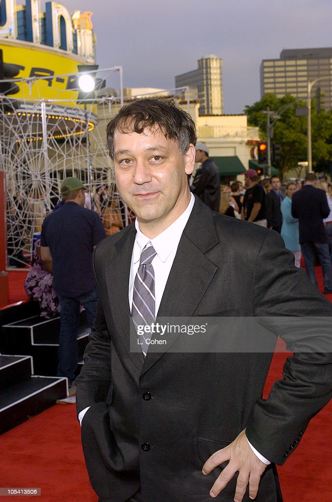 <a gi-track='captionPersonalityLinkClicked' href=/galleries/search?phrase=Sam+Raimi&family=editorial&specificpeople=215417 ng-click='$event.stopPropagation()'>Sam Raimi</a>, director during 'Spider-Man 2' Los Angeles Premiere - Red Carpet at Mann Village Theatre in Westwood, California, United States.