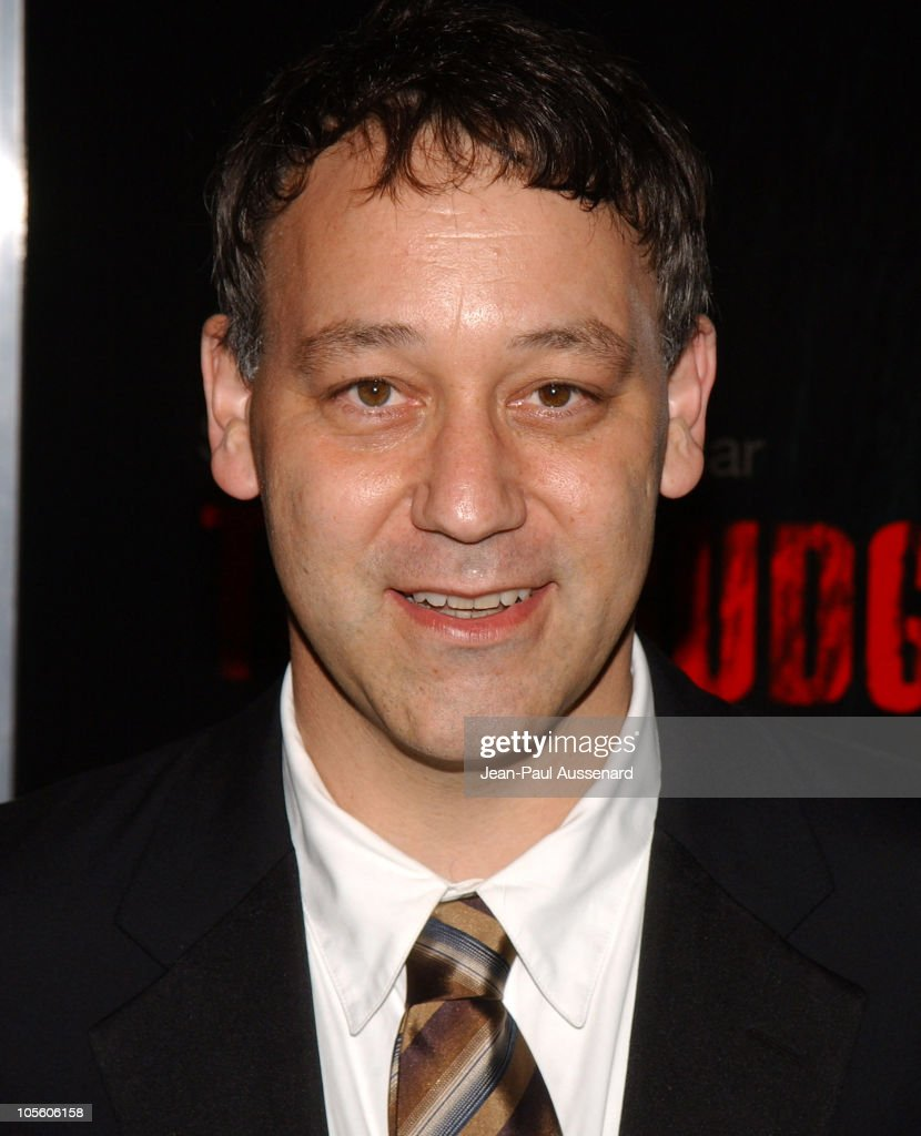 <a gi-track='captionPersonalityLinkClicked' href=/galleries/search?phrase=Sam+Raimi&family=editorial&specificpeople=215417 ng-click='$event.stopPropagation()'>Sam Raimi</a> during 'The Grudge' Los Angeles Premiere - Arrivals at Mann Village in Westwood, California, United States.