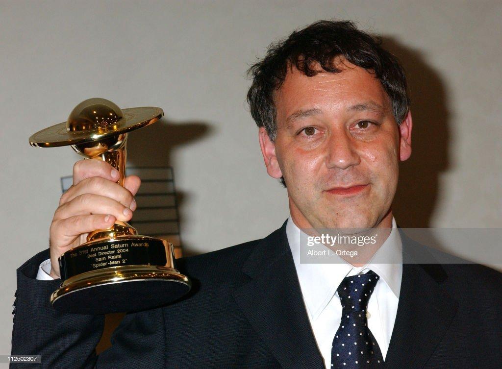 Sam Raimi, winner for Best Director for 'Spider-Man 2'