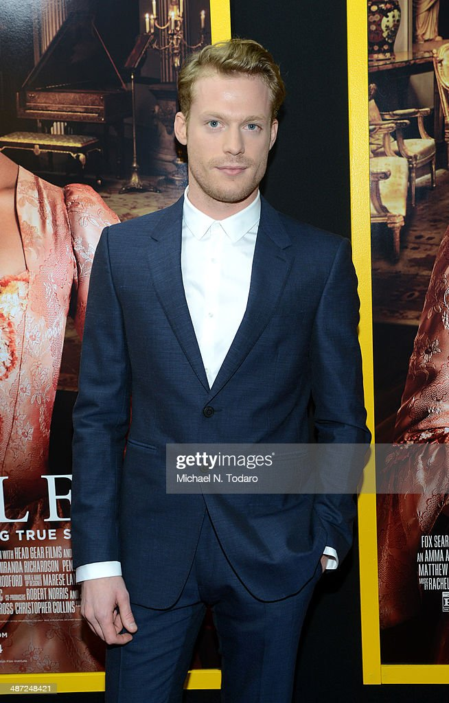 Sam Reid attends the 'Belle' premiere at The Paris Theatre on April 28, 2014 in New York City.