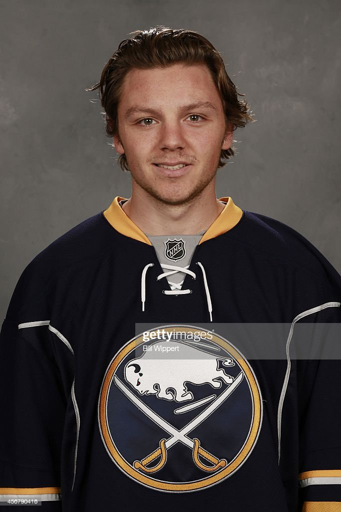 <a gi-track='captionPersonalityLinkClicked' href=/galleries/search?phrase=Sam+Reinhart&family=editorial&specificpeople=9984450 ng-click='$event.stopPropagation()'>Sam Reinhart</a> of the Buffalo Sabres poses for his official headshot for the 2014-2015 season on September 18, 2014 at the First Niagara Center in Buffalo, New York.