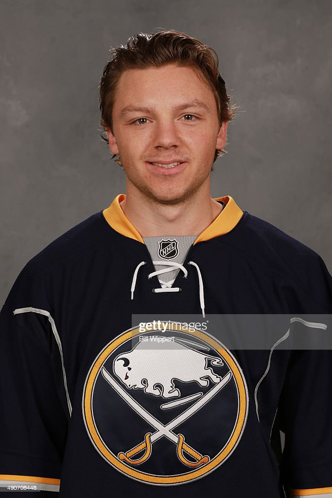 <a gi-track='captionPersonalityLinkClicked' href=/galleries/search?phrase=Sam+Reinhart&family=editorial&specificpeople=9984450 ng-click='$event.stopPropagation()'>Sam Reinhart</a> of the Buffalo Sabres poses for his official headshot for the 2015-2016 season on September 17, 2015 at the First Niagara Center in Buffalo, New York.