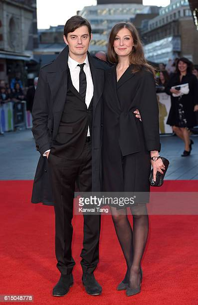 Sam Riley and Alexandra Maria Lara attend the 'Free Fire' Closing Night Gala during the 60th BFI London Film Festival at Odeon Leicester Square on...