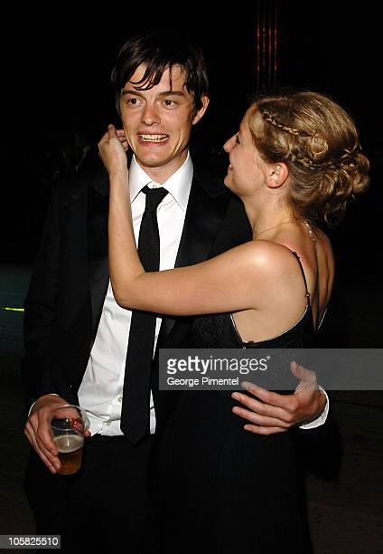 Sam Riley and Alexandra Maria Lara during 2007 Cannes Film Festival 'Control' Party in Cannes France