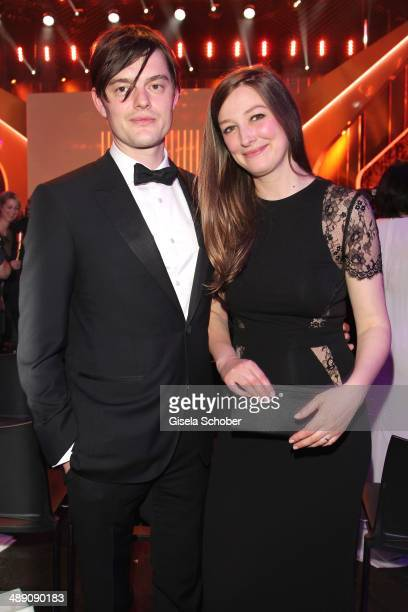 Sam Riley and his wife Alexandra Maria Lara attend the Lola German Film Award 2014 After party at Tempodrom on May 9 2014 in Berlin Germany