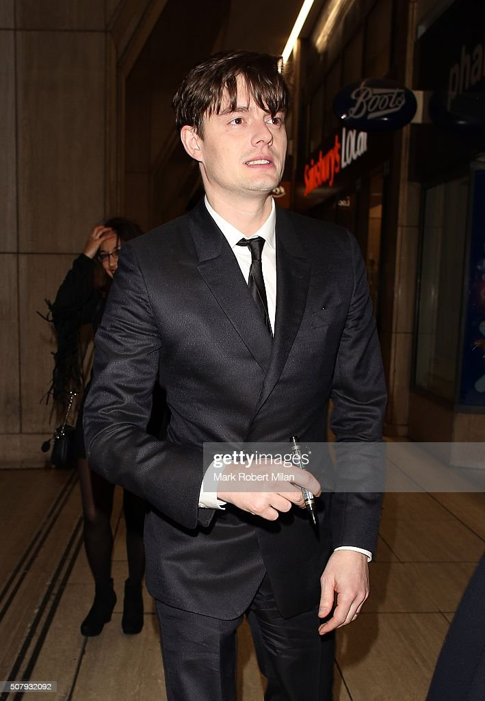 Sam Riley attending the 'Pride And Prejudice And Zombies' after party at Bounce on February 1 2016 in London England