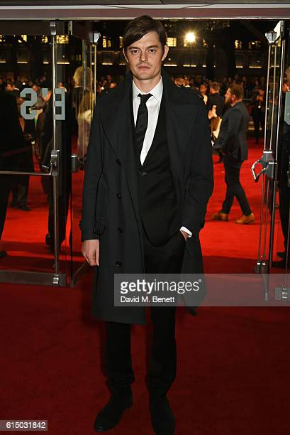 Sam Riley attends the 'Free Fire' Closing Night Gala during the 60th BFI London Film Festival at Odeon Leicester Square on October 16 2016 in London...