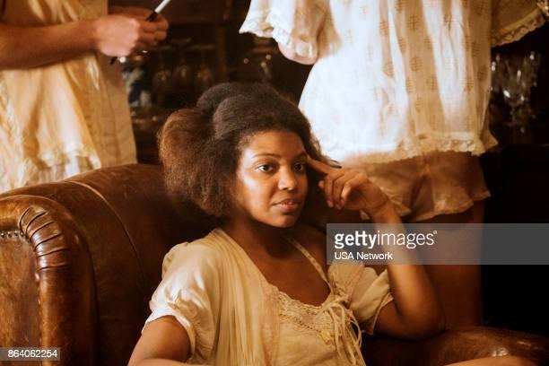 DAMNATION 'Sam Riley's Body' Episode 101 Pictured Chasten Harmon as Bessie Louvin
