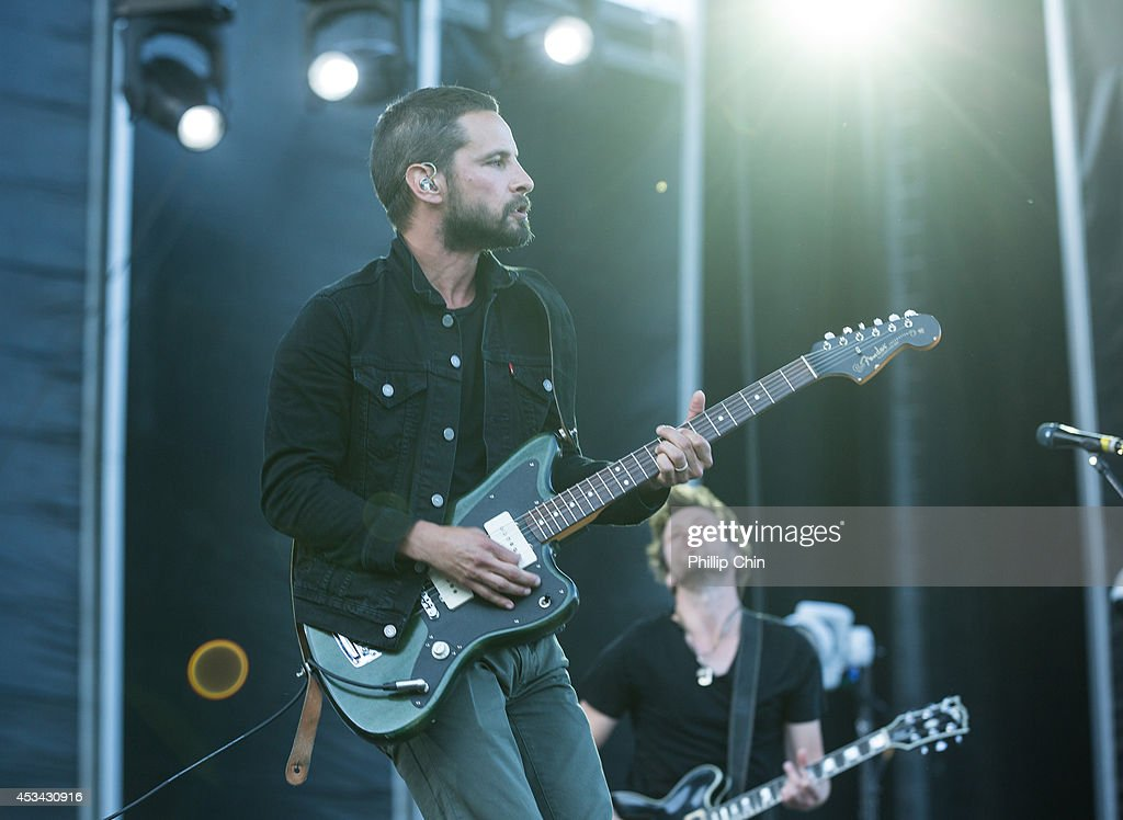<a gi-track='captionPersonalityLinkClicked' href=/galleries/search?phrase=Sam+Roberts&family=editorial&specificpeople=226848 ng-click='$event.stopPropagation()'>Sam Roberts</a> performs at the Squamish Valley Music Festival on August 9, 2014 in Squamish, Canada.