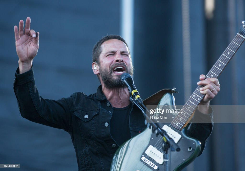 Sam Roberts performs at the Squamish Valley Music Festival on August 9, 2014 in Squamish, Canada.