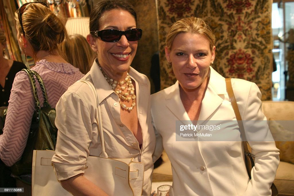Sam Robin and Whitney Donati attend Ann Getty Michael Leondas Kirkland and John Nelson celebrate the arrival of Ann Getty House Collection at J...
