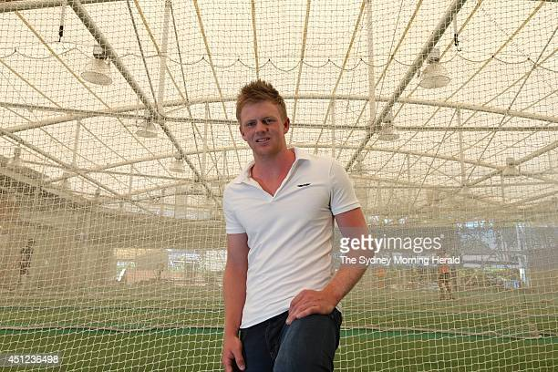 Sam Robson is an Australianborn cricket player and a part of the development side of the English cricket team He is photographed at the nets at the...