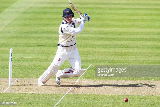 Sam Robson of Middlesex batting during the Specsavers County Championship match between Middlesex and Warwickshire at Lords Cricket Ground on April...