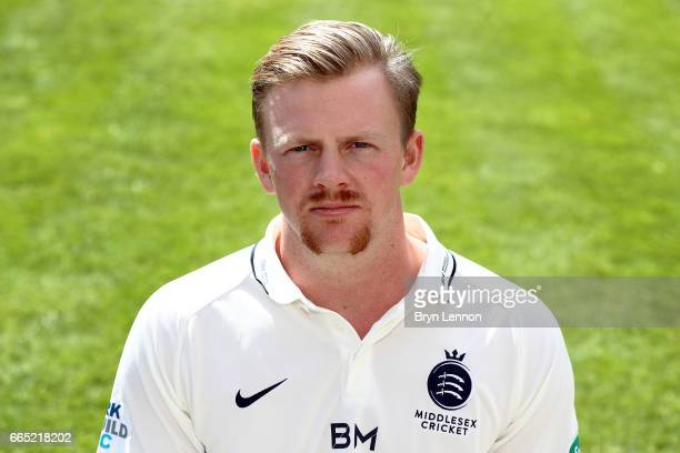 Sam Robson of Middlesex CCC poses for a portrait during their media day at Lord's Cricket Ground on April 5 2017 in London England