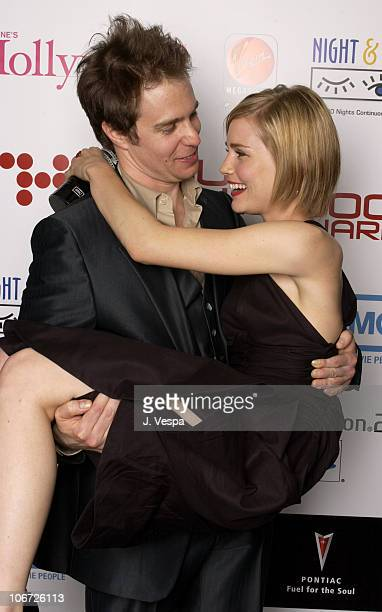 Sam Rockwell and Alison Lohman during AMC Movieline's Hollywood Life Magazine's Young Hollywood Awards Portrait Gallery at El Rey Theatre in Los...
