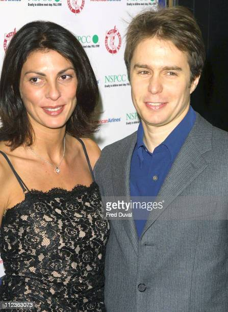 Sam Rockwell and Gina Bellman during The 23rd Awards Of The London Film Critics' Circle held at the Dorchester Hotel In Aid Of NSPCC at Dorchester...
