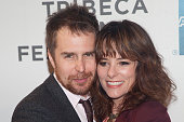 Sam Rockwell and Parker Posey attend the A Single Shot Film Premiere during the 2013 Tribeca Film Festival at the BMCC in New York City �� LAN