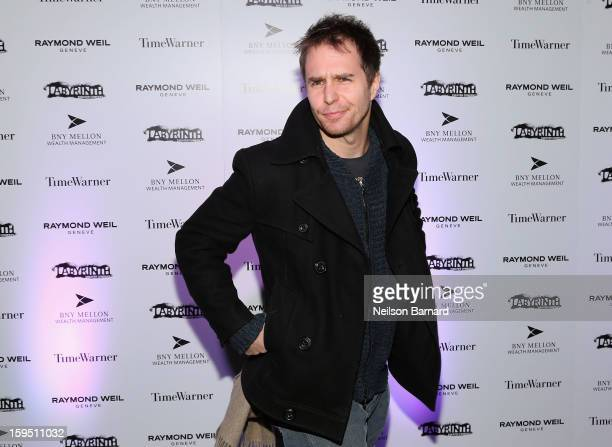 Sam Rockwell attends LAByrinth Theater Company Celebrity Charades 2013 Benefit Gala at Capitale on January 14 2013 in New York City