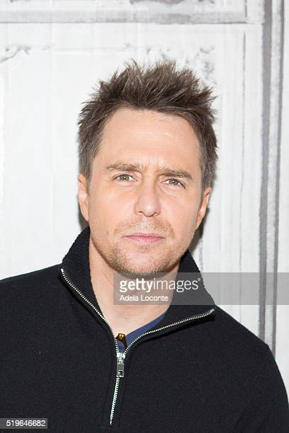 Sam Rockwell attends 'Mr Right' at AOL Studios In New York on April 7 2016 in New York City