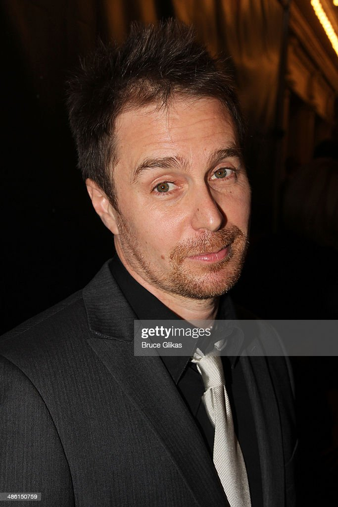 <a gi-track='captionPersonalityLinkClicked' href=/galleries/search?phrase=Sam+Rockwell&family=editorial&specificpeople=213214 ng-click='$event.stopPropagation()'>Sam Rockwell</a> attends the Broadway opening night of 'Hedwig And The Angry Inch' at The Belasco Theatre on April 22, 2014 in New York City.