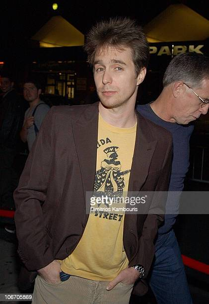 Sam Rockwell during 1st Annual LAByrinth Theater Company Celebrity Charades Benefit presented by Gotham and LA Confidential Magazine at Daryl Roth...