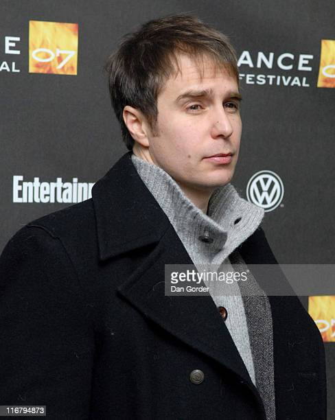 Sam Rockwell during 2007 Sundance Film Festival 'Snow Angels' Premiere at Racquet Club Theater in Park City Utah United States