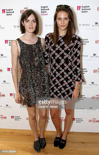 Sam Rollinson and Charlotte Wiggins attend as Eco World Ballymore welcomes English National Ballet to its new home on London City Island on July 1...