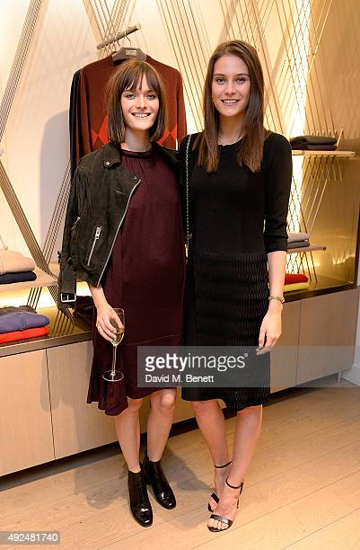 Sam Rollinson and Charlotte Wiggins attend the Deconstructed Project with a private dinner hosted by Caroline Issa David Shrigley and Massimo Nicosia...