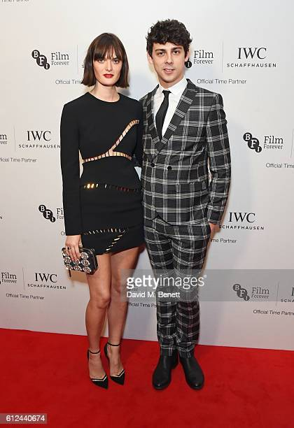 Sam Rollinson and Matt Richardson attend the IWC Schaffhausen Dinner in Honour of the BFI at Rosewood London on October 4 2016 in London England