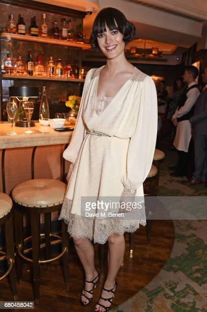 Sam Rollinson attends a combined celebratory VIP dinner marking The Ivy's centenary year and 150 years of Harper's Bazaar sponsored by PerrierJouet...
