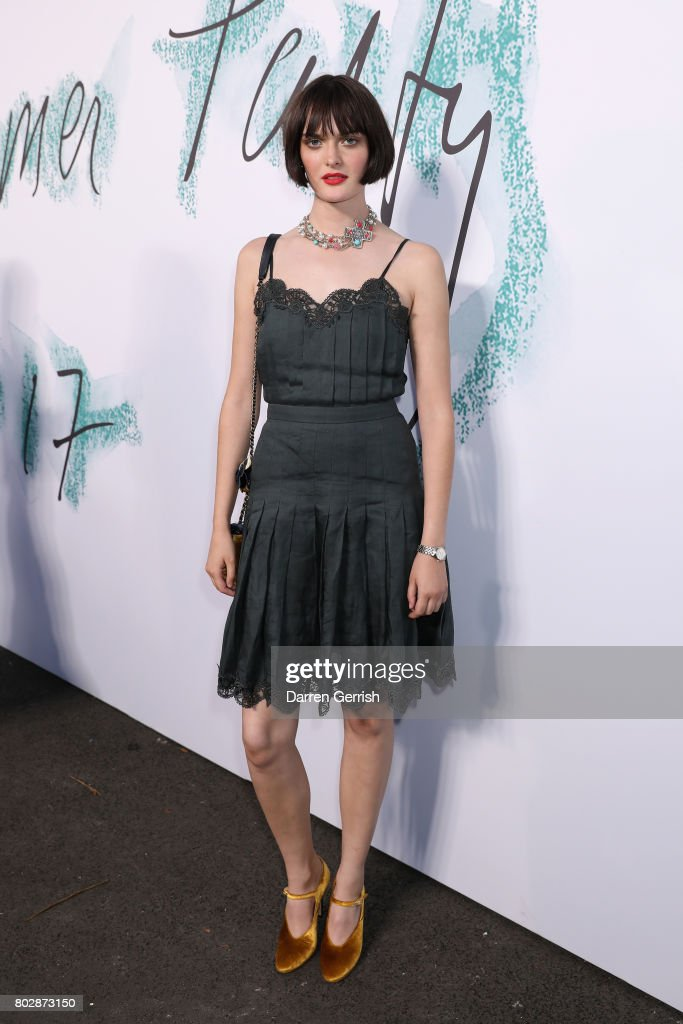 Sam Rollinson attends the Summer Party 2017 presented by Serpentine and Chanel at The Serpentine Gallery on June 28, 2017 in London, England.