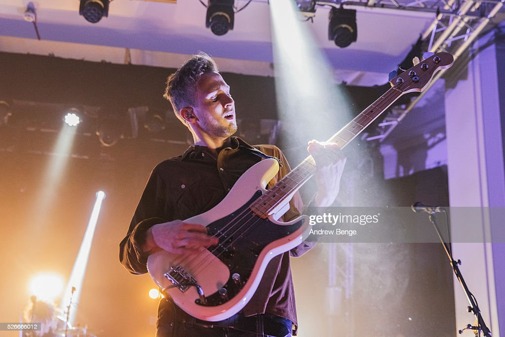 Sam Rourke of Circa Waves performs at The Refectory during Live At Leeds on April 30, 2016 in Leeds, England.