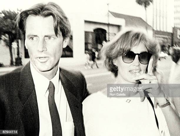 Sam Shepard and Jessica Lange