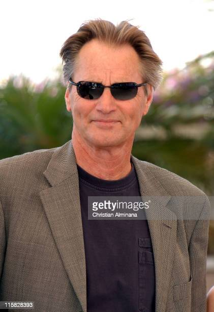 Sam Shepard during 2005 Cannes Film Festival 'Don't Come Knocking' Photocall at Terrasse Riviera in Cannes France