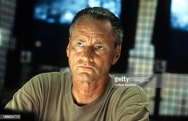 Sam Shepard in a stare in a scene from the film 'Black Hawk Down' 2001