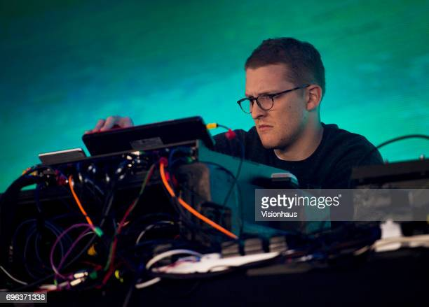 Sam Shepherd also known as Floating Points performs at The Parklife Festival 2017 at Heaton Park on June 10 2017 in Manchester England