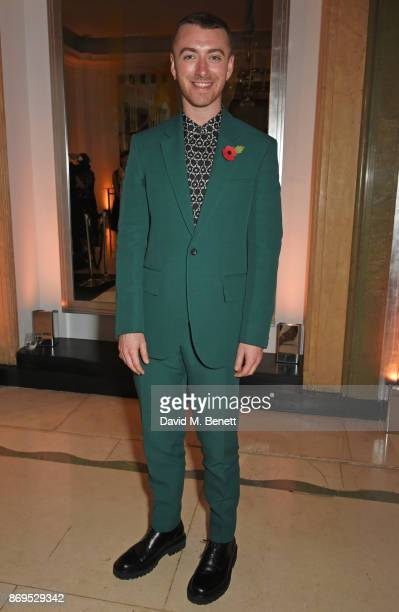 Sam Smith attends Harper's Bazaar Women of the Year Awards in association with Ralph Russo Audemars Piguet and MercedesBenz at Claridge's Hotel on...