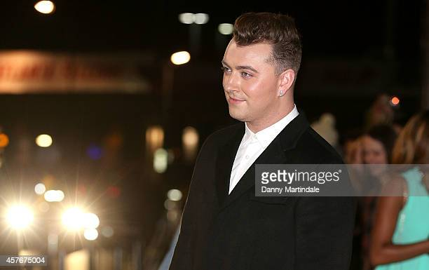 Sam Smith attends the MOBO Awards at SSE Arena on October 22 2014 in London England