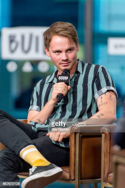 Sam Strike discusses 'Leatherface' with the Build Series at Build Studio on October 18 2017 in New York City