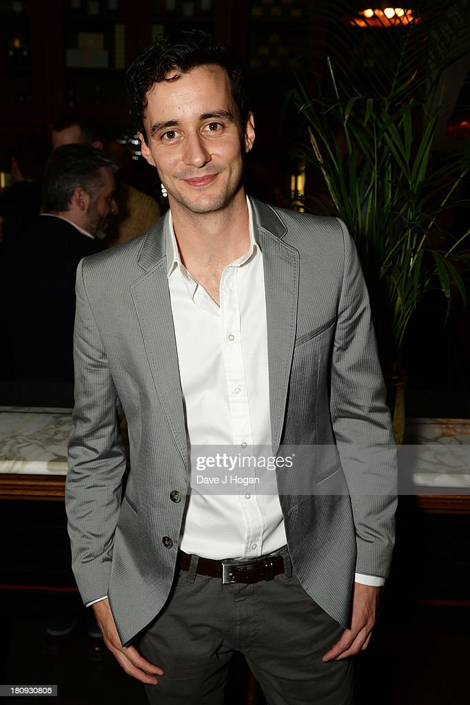 Sam Swainsbury attends the afterparty for Midsummer Nights Dream at The National Gallery on September 17, 2013 in London, England.